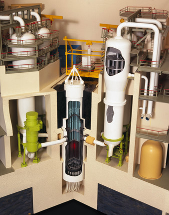 Sizewell B Presurised Water Reactor (PWR), 1995.