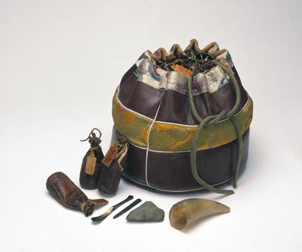 Tibetan doctor's bag.