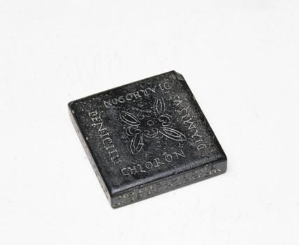 Stone oculist's seal, Roman.