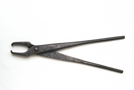 Dental forceps, Indian, 19th century.