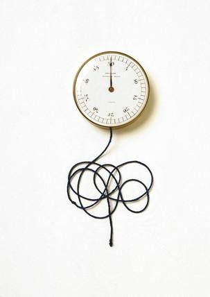 Quain's stethometer, late 19th century.