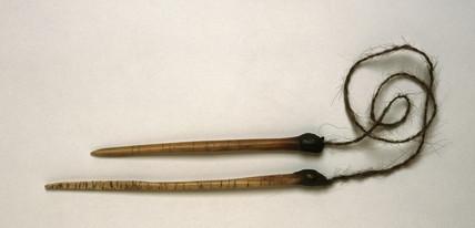 Pair of pointing bones, Central Australia, c 1870-1920.