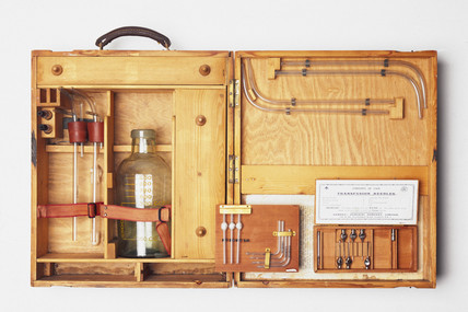 Blood transfusion apparatus, 1914-1918.