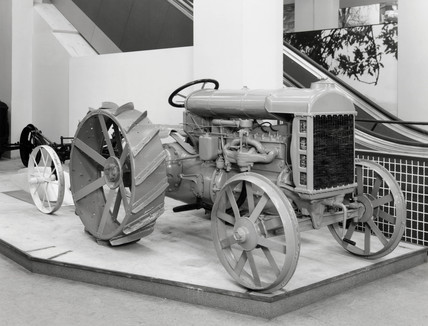 Fordson tractor, 1917.