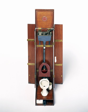 J G Jenning's patent water closet, c 1900.