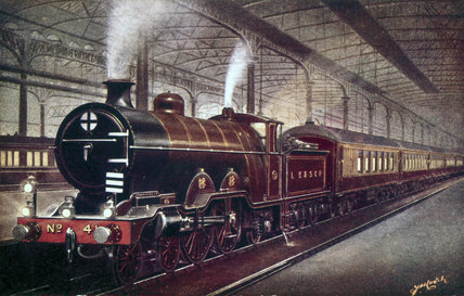 'Brighton Belle' London, Brighton and South Coast Railway train, c 1906.