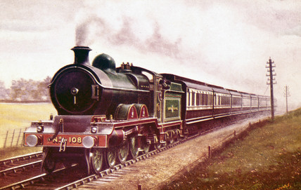 Great Central Railway Manchester expres, c 1907.
