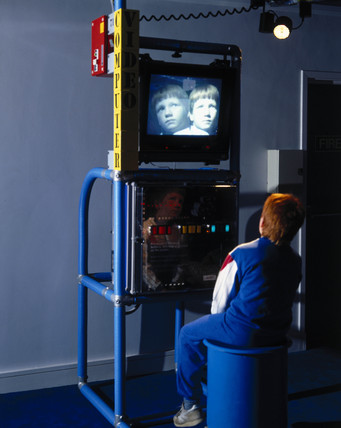 Computer video interactive, Science Museum, London, 1996.