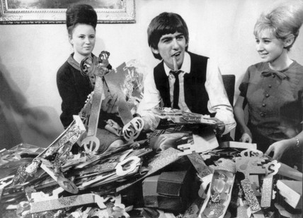 Beatle George Harrison's birthday, 26 February 1964.
