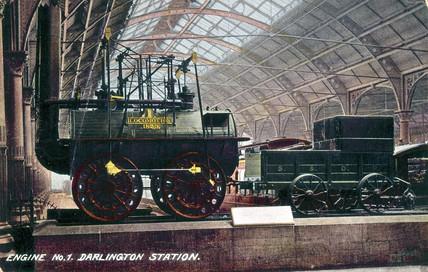 'Locomotion No 1', Stockton and Darlington Railway locomotive, c 1895.