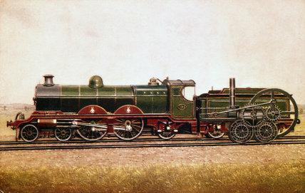 South Eastern and Chatham Railway steam rai