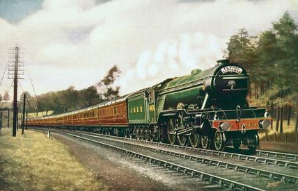 'Royal Lancer' LNER 4-6-2 steam locomotive, c 1930.