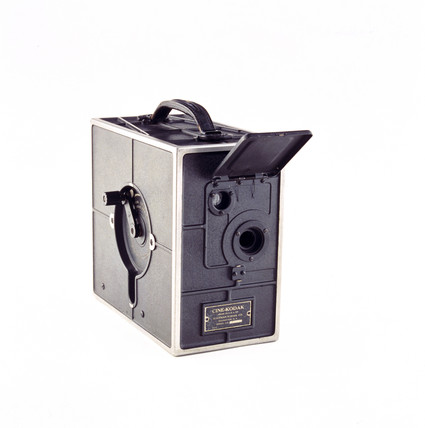 Cine-Kodak camera, American, 1923.