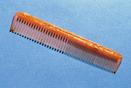 Plastic comb, c 1930s.