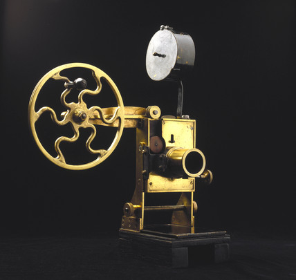 Riley Kineoptoscope projector, 1896.