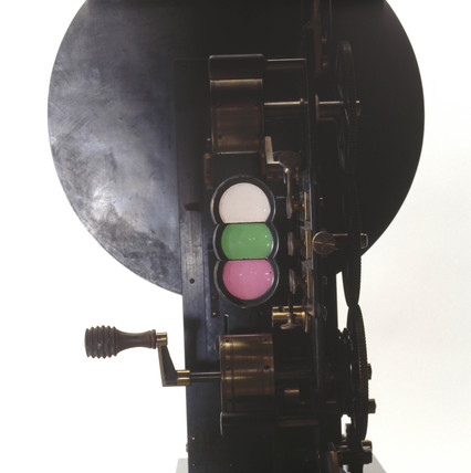 Lee and Turner three-colour projector, 1902.