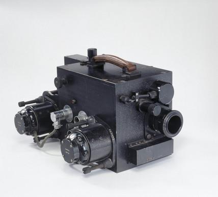 Acmade high speed cine camera, c 1950.