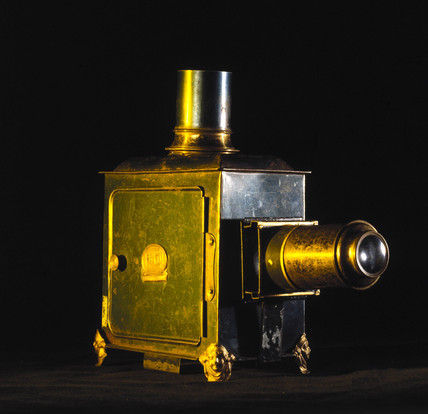 German magic lantern, early 20th century.