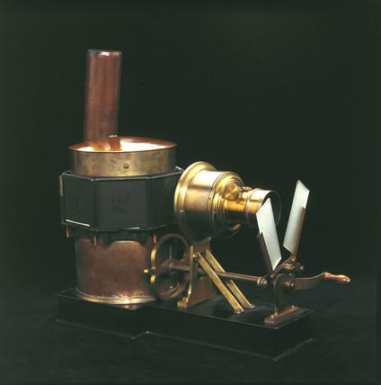 Phantascope lantern, 1884.
