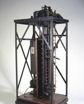 BTM vertical sorter, 1911.