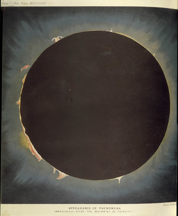 An eclipse, 1862.