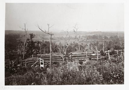 View of Kennesaw Mountain, Georgia, USA, 1866.