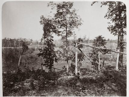 Battleground of Resaca, Georgia, USA, 1866.
