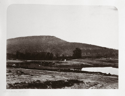 Lookout Mountain, Tennesee, USA, north face, c 1865.