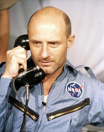 Astronaut Thomas Stafford, 1966.