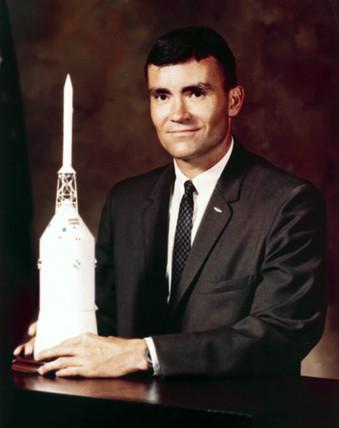 Astronaut Fred Haise Jr, 1966.