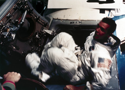 Apollo 9 astronaut David Scott, 1969.