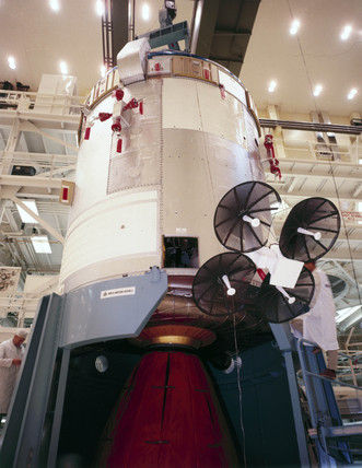 Apollo Command and Service Module, 1968.