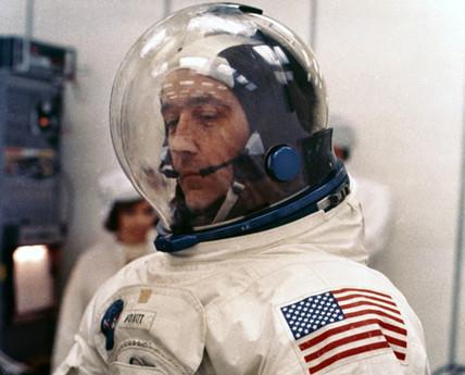 Apollo 9 astronaut James McDivitt, 1969.