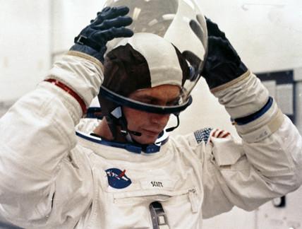 Apollo 9 astronaut David Scott, 1969.