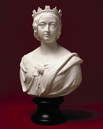 Queen Victoria, portrait bust, 1862.