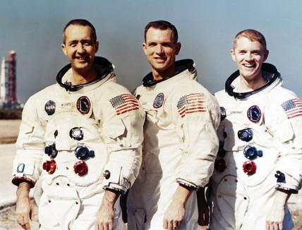 Apollo 9 astronauts, 1969.