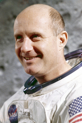 Apollo 10 astronaut Thomas Stafford, 1969.