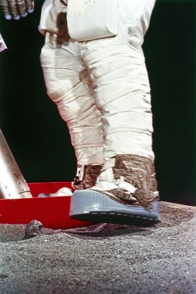 A Lunar Boot, 1969.