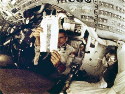 Apollo 10 astronaut Eugene Cernan, 1969.