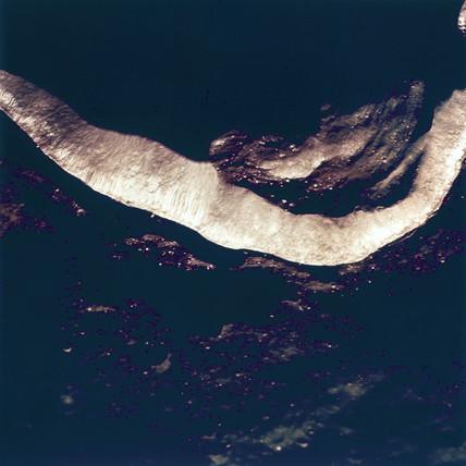 Lunar crater Godin, 1969.