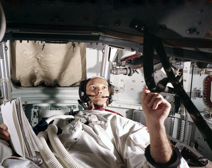 Apollo 11 astronaut Michael Collins, 1969.