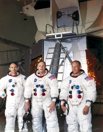 The Apollo 11 astronauts, 1969.