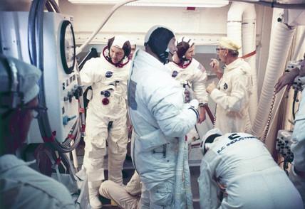 Apollo 11 astronaut Michael Collins, 1969.