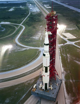 Saturn V rocket, 1969.
