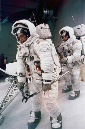 Apollo 12 astronauts in training, 1969. by NASA at Science ...