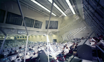 Launch Control Centre Firing Room 3, Cape Canaveral, Florida, May 1969.