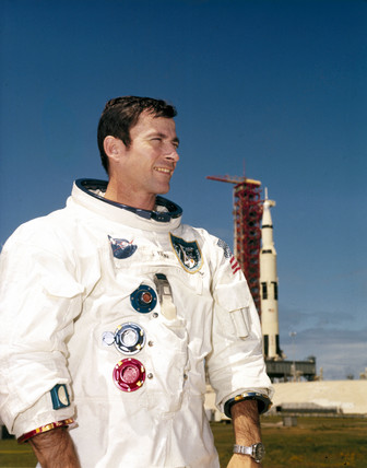Apollo 10 astronaut John Young, 1969.