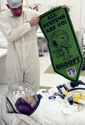 Apollo 10 astronaut Thomas Stafford, 1969.