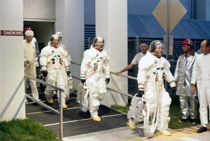 Apollo 10 astronauts, 1969.