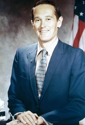 Apollo 16 astronaut Charles Duke, 1971.